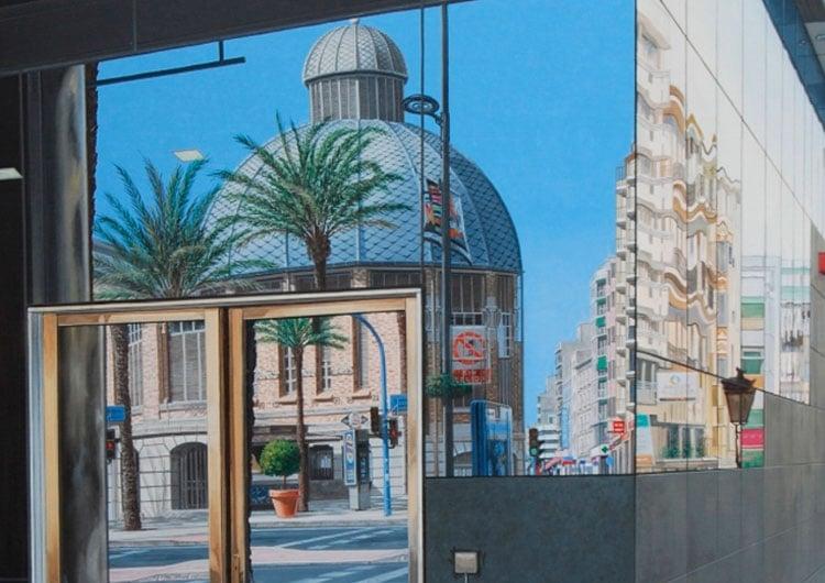 exposicion espacios en azul mediterraneo