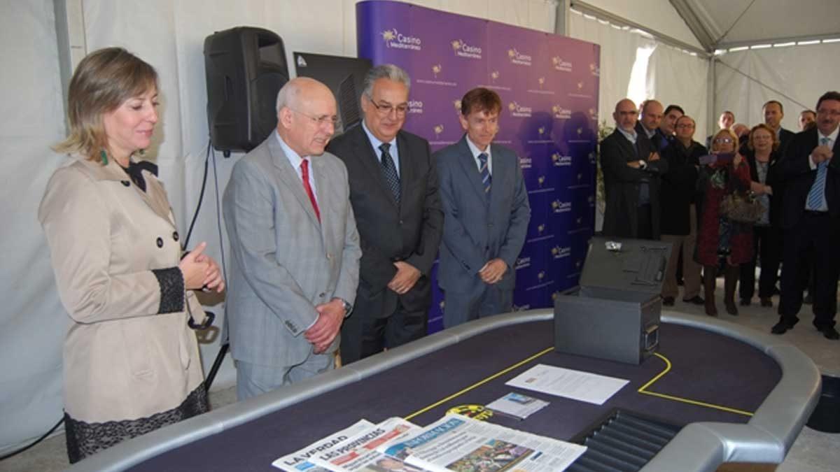 Colocada la primera piedra de Casino Mediterráneo Benidorm