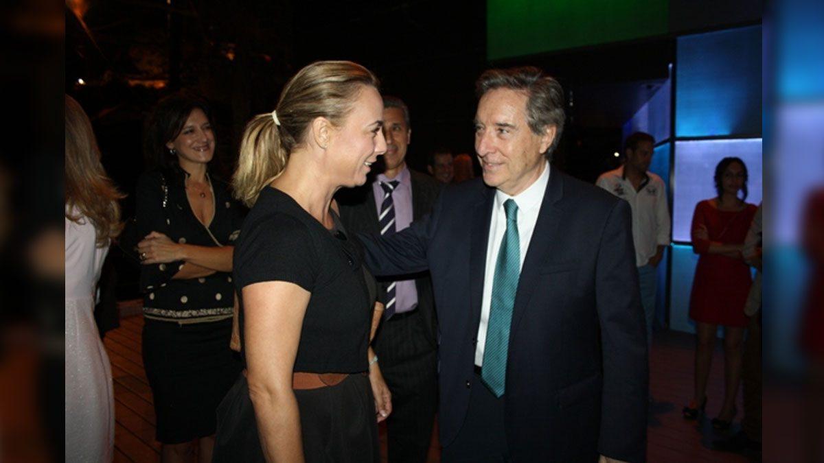 Sonia Castedo e Iñaki Gabilondo