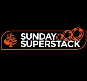 poker sunday superstack tournament logo