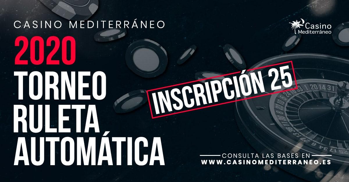 Torneo Automatica Casino Mediterraneo 2020